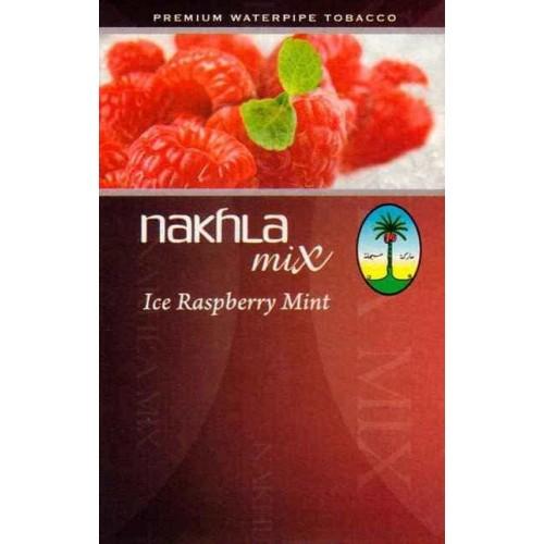 Тютюн Nakhla Mix Ice Raspberry Mint (Лід Малина М'ята) - 50 грам