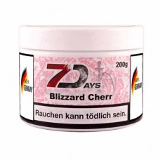 Tobacco 7Days Blizzard Cherr (Cherry Blizzard) - 200 grams