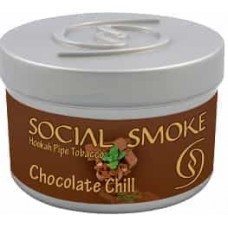 Табак Social Smoke Chocolate Chill (Шоколад с Мятой) - 100 грамм