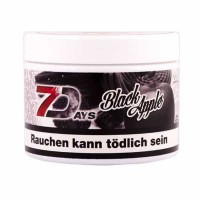 Tobacco 7Days Black App (Black Apple) - 200 grams
