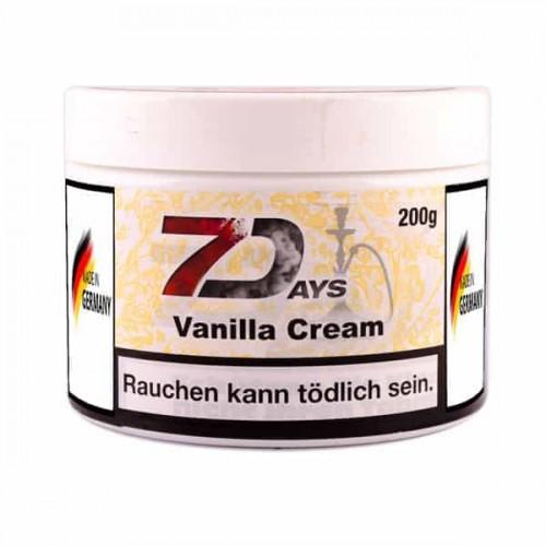 Тютюн 7Days Vanilla Cream (Ванільний Крем) - 200 грам