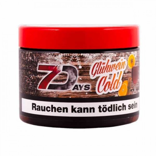 Табак 7Days Gluehwein Cold (Холодный Глинтвейн) - 200 грамм