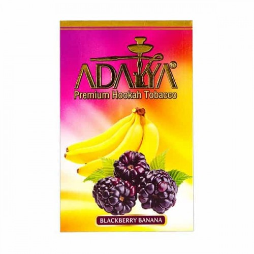 Тютюн Adalya Blackberry Banana (Ожина Банан) - 50 грам