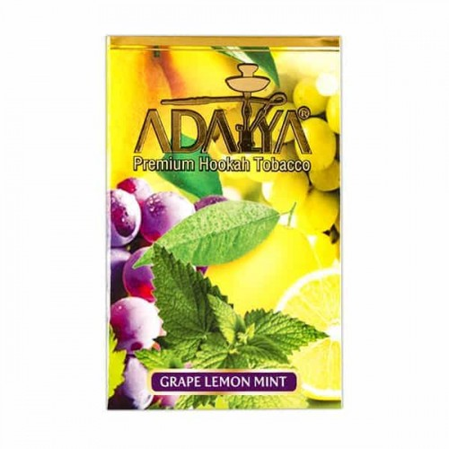 Табак Adalya Grape Lemon Mint (Виноград Лимон Мята) - 50 грамм