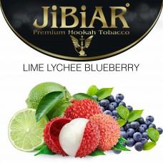 Табак Jibiar Lime Lychee Blueberry (Лайм Личи Черника) - 100 грамм