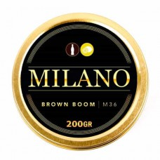 Tobacco Milano Brown Boom M36 (Dark Boom) - 200 grams
