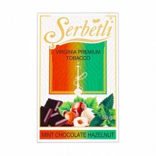 Табак Serbetli Mint Chocolate Hazelnut (Мятный Шоколад с Фундуком) - 50 грамм