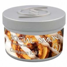 Табак Social Smoke Cinnamon Roll (Булочка с Корицей) - 100 грамм