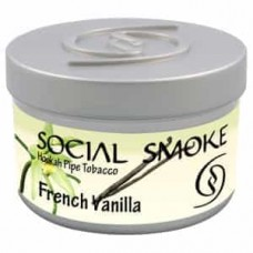 Tobacco Social Smoke French Vanilla (French Vanilla) - 100 grams