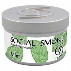 Tobacco Social Smoke Mint (Mint) - 100 grams