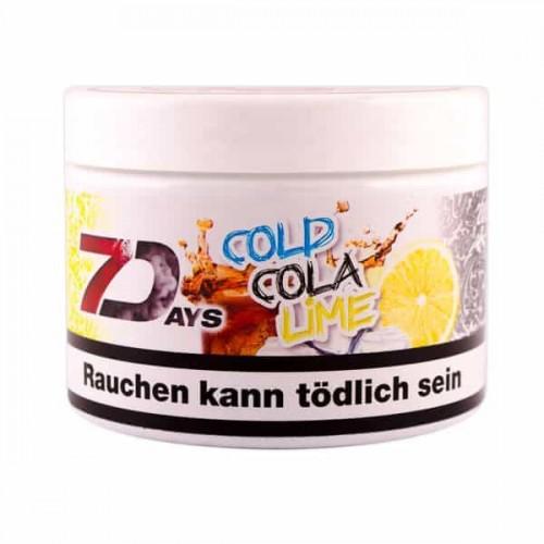 Табак 7Days Cold Cola Lime (Лед Кола Лайм) - 200 грамм