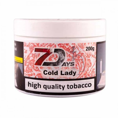 Тютюн 7Days Cold Lady (Холодна Леді) - 200 грам