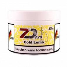 Табак 7Days Cold Lemo (Холодный Лимон) - 200 грамм