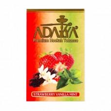 Табак Adalya Strawberry Vanilla Mint (Клубника Ваниль Мята) - 50 грамм