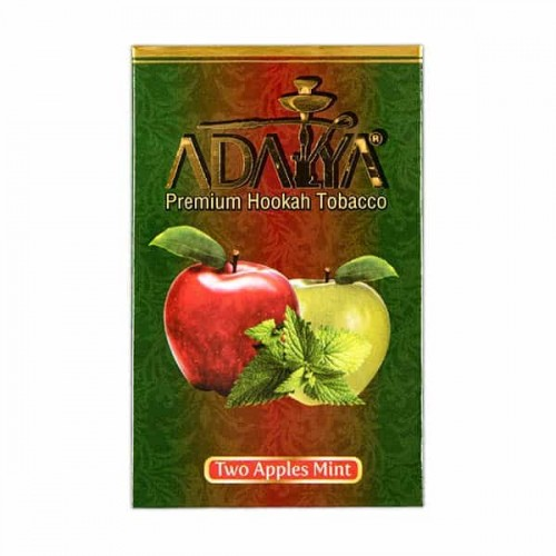 Tobacco Adalya Two Apples Mint (Double Apple Mint) - 50 grams