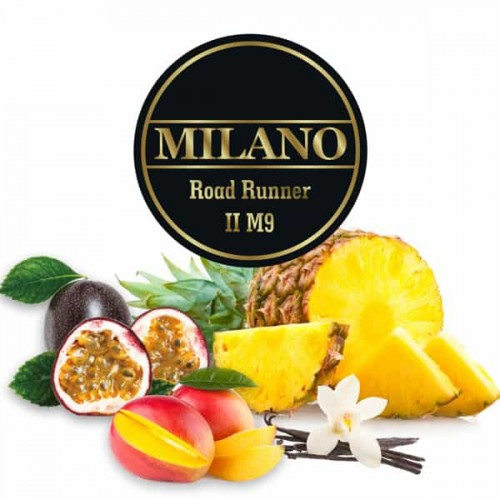 Тютюн Milano Road Runner M9 (Дорожній Бігун) - 100 грам