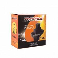 Уголь кокосовый Coco Time 108 шт