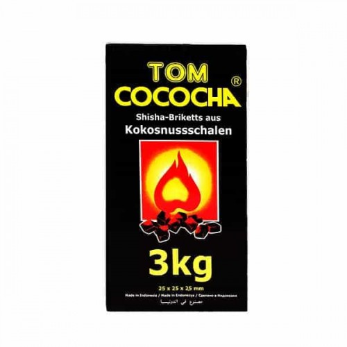 Coconut coal Tom Cococha 3 kg (large)