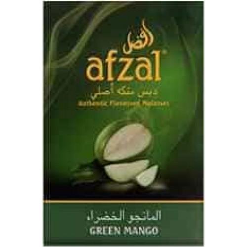 Табак Afzal Зелёный Манго - 50 грамм