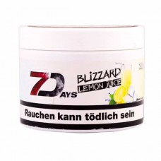Tobacco 7Days Blizzard Lemon Juice (Juicy Lemon Blizzard) - 200 grams