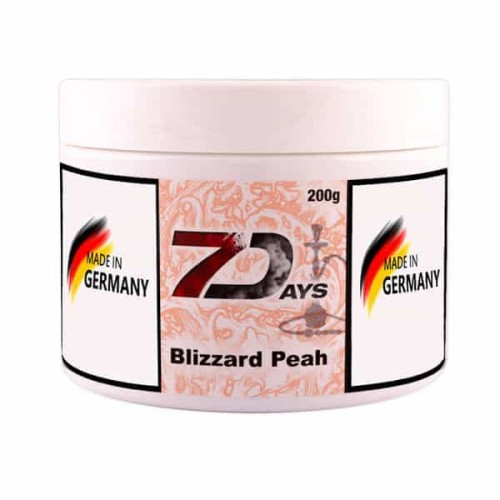 Табак 7Days Blizzard Peah (Персиковая Пурга) - 200 грамм