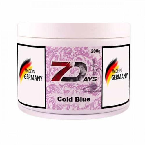 Табак 7Days Cold Blue (Холодный Синий) - 200 грамм