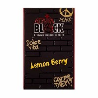 Тютюн Adalya Black Lemon Berry (Лимон Ягода) - 50 грам