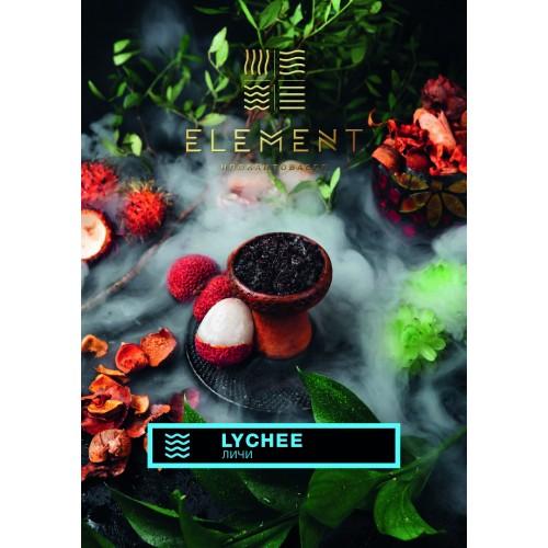 Тютюн Element Вода Lychee (Лічі) - 100 грам