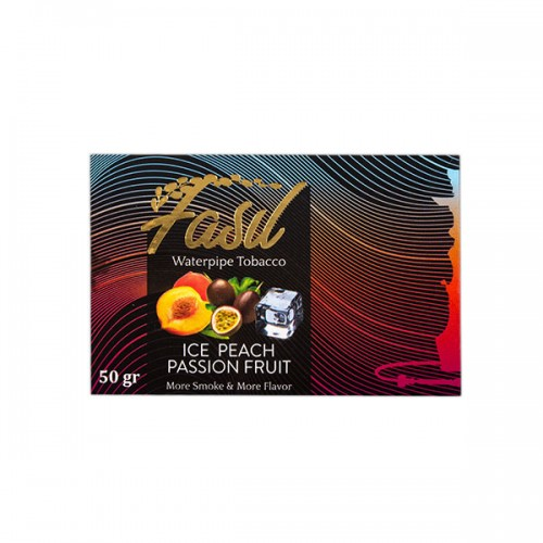 Табак Fasil Ice Peach Passion Fruit (Лед Персик Маракуйя) - 50 грамм