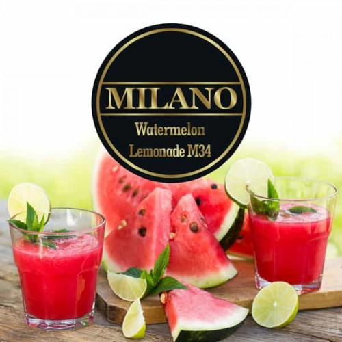 Тютюн Milano Watermelon Lemonade M34 (Кавуновий Лимонад) - 100 грам
