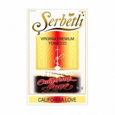 Tobacco Serbetli California Love (California Love) - 50 grams