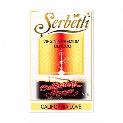 Табак Serbetli California Love (Калифорния Лав) - 50 грамм