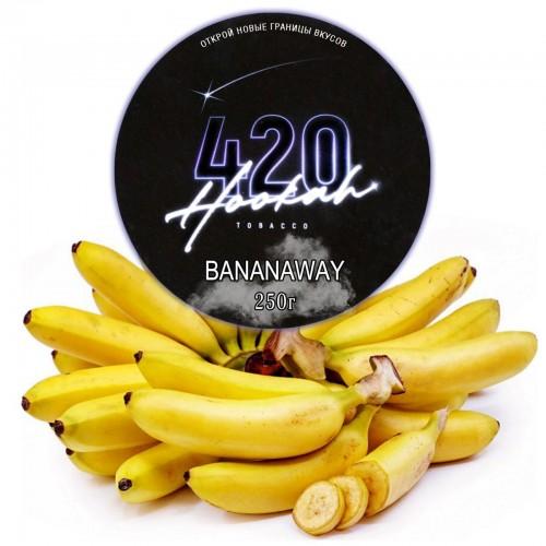 Табак 420 Dark Line Bananaway (Банан) - 250 грамм