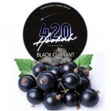 Табак 420 Dark Line Black Currant (Черная Смородина) - 250 грамм