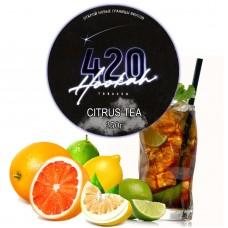 Табак 420 Dark Line Citrus Tea (Цитрус Чай) - 250 грамм