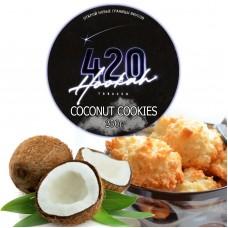 Табак 420 Dark Line Coconut Cookies (Кокос Печенье) - 250 грамм