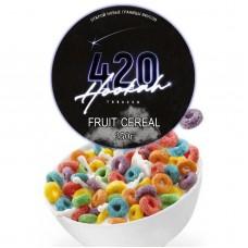 Табак 420 Dark Line Fruit Cereal (Фруктовые Хлопья) - 250 грамм