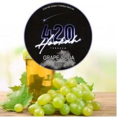 Табак 420 Dark Line Grape Soda (Виноградная Газировка) - 250 грамм