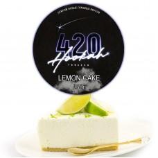Табак 420 Dark Line Lemon Cake (Лимонный Пирог) - 250 грамм