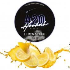 Табак 420 Dark Line Lemon Squirt (Лимон Сквирт) - 250 грамм