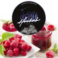 Табак 420 Dark Line Malvina (Малина) - 250 грамм