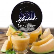 Табак 420 Dark Line Melon Sorbet (Дыня Сорбет) - 250 грамм