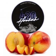 Табак 420 Dark Line Neasty Peach (Сладкий Персик) - 250 грамм