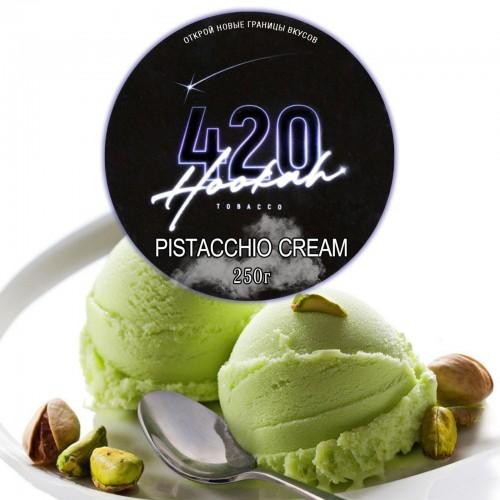 Табак 420 Dark Line Pistacchio Cream (Фисташковое Мороженое) - 250 грамм