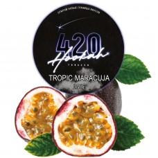 Табак 420 Dark Line Tropic Maracuja (Тропическая Маракуйя) - 250 грамм