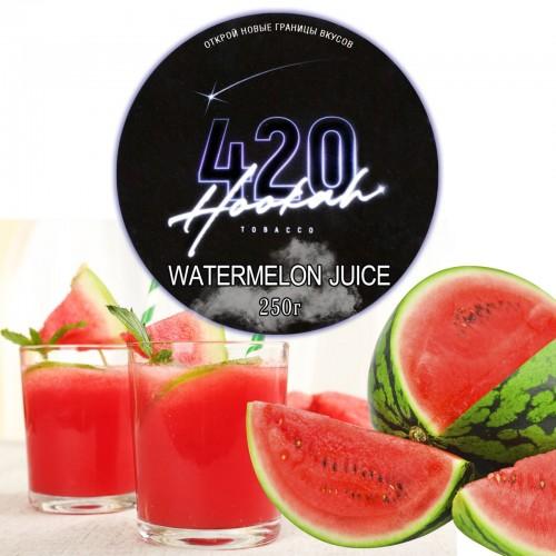 Табак 420 Dark Line Watermelon Juice (Арбузный Фреш) - 250 грамм