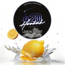 Табак 420 Dark Line Lemon Squirt (Лимон Сквирт) - 25 грамм