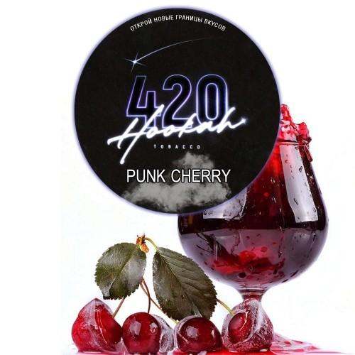Табак 420 Dark Line Punk Cherry (Вишневый Сок) - 25 грамм
