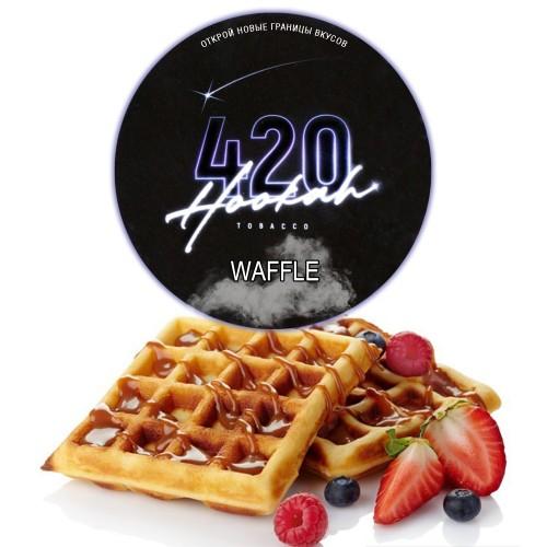 Табак 420 Dark Line Waffle (Бельгийские Вафли) - 25 грамм