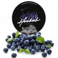 Тютюн 420 Dark Line Blueberry (Чорниця) - 125 грам